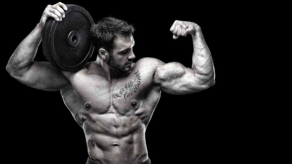 Uomo forma fisica